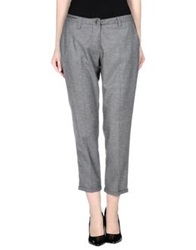 Etiqueta Negra Casual Pants Grey