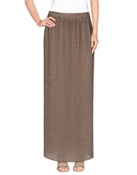 Ottod'ame Skirts Long Skirts Women Khaki