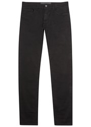 Dolce And Gabbana Black Slim Leg Cotton Chinos