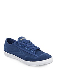 Feiyue Fe Lo Plain Suede Sneakers Dutch Blue