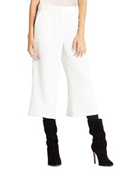 Bcbgeneration Cropped Wide Leg Pants Whisper White