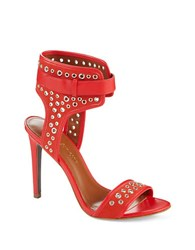 Enzo Angiolini Booka Heels Red
