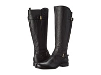 Naturalizer Joan Wide Calf Black Leather Women's Wide Shaft Boots