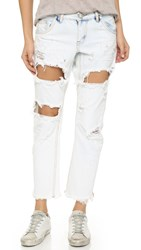 One Teaspoon Lonely Boy Slouch Jeans Iced Blue