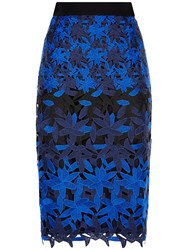 Fenn Wright Manson Petite Planet Skirt Black Blue