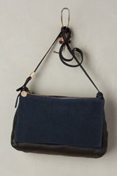 Anthropologie Clare V. Gosee Crossbody Bag Navy One Size Bags