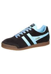 Gola Harrier Trainers Brown Pale Blue
