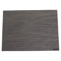 Chilewich Mini Basketweave Rectangle Placemat Light Grey