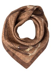 Guess Marian Scarf Brown Bronze