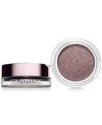 Clarins Ombre Iridescent Cream To Powder Eye Shadow Silver Plum