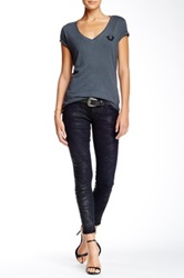 True Religion Casey Low Rise Super Skinny Jean Black