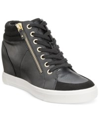 Aldo Women's Ottani Wedge Sneakers Black