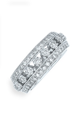 Kwiat 'Stardust' 18K White Gold And Diamond Ring