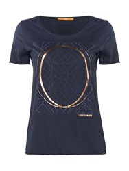 Hugo Boss Tishirt Short Sleeve Logo Tee Navy