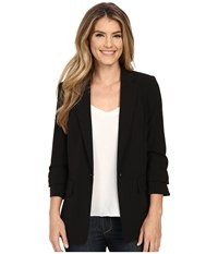 Michael Michael Kors New Boyfriend Blazer Black Women's Jacket