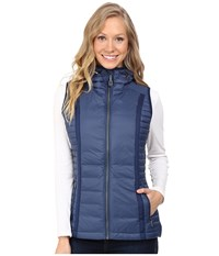 Kuhl Spyfire Hooded Vest Blue Depths Women's Vest