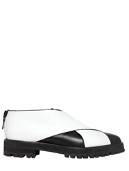 Proenza Schouler 20Mm Calf Leather Shoes Black White