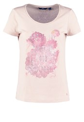 Tom Tailor Print Tshirt Light Powder Rose