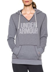 Under Armour Attached Hooded Long Sleeve Pullover Carbon Heather