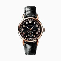 Tiffany And Co. Ct60 Annual Calendar 40 Mm Men's Watch In 18K Rose Gold.