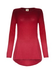 Yumi The Fade Out Tunic Red