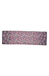 St. John Women's Collection 'Pink Rose' Print Silk Georgette Scarf