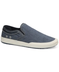 Bass Hopewell Canvas Slip On Sneakers Men's Shoes Navy