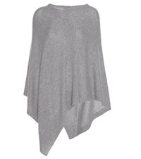81 Hours Conor Cashmere Poncho Grey