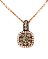 Effy Final Call Diamond Pendant Necklace 1 2 Ct. T.W. In 14K Rose Gold