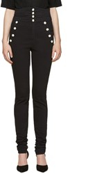Isabel Marant Black High Rise Marvin Jeans