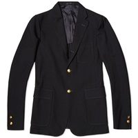 Beams Plus 2 Button Blazer Navy