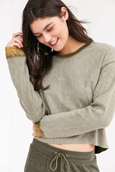 Out From Under Baby Soft Pullover Sweatshirt Olive
