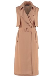 Dorothy Perkins Waistcoat Light Brown Camel