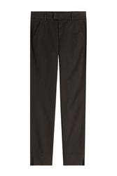 7 For All Mankind Seven For All Mankind Cotton Chinos Black