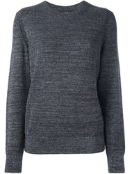 A.P.C. Metallic Jumper Grey