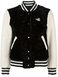 Marc Jacobs Disney Textured Bomber Jacket Black