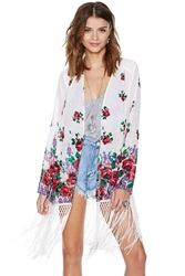 Nasty Gal On The Fringe Kimono