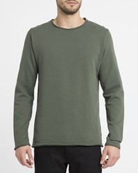 Revolution Dark Green 2003 Rolled Edge Round Neck Sweatshirt