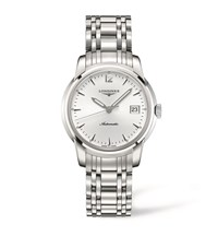 Longines Saint Imier Automatic Watch Unisex Silver