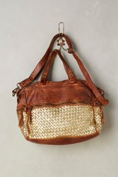 Anthropologie Glimmer Tote Cedar