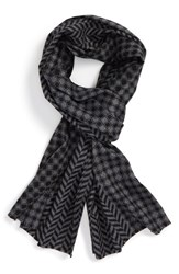 Calibrate Men's Geometric Scarf