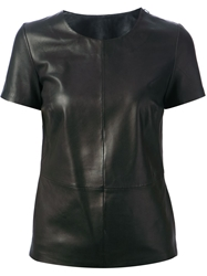 Muubaa Leather Top Black