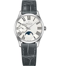 Zenith 03.2320.692 80.C714 Ultra Thin Lady Moonphase Stainless Steel Watch