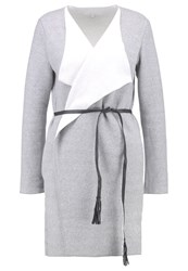 Opus Jirka Cardigan Light Grey