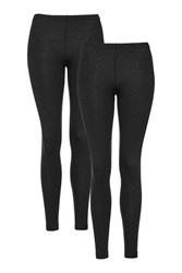 Topshop Black Multi Pack Ankle Leggings