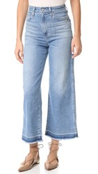 Ag Jeans The Yvette Wide Leg Ankle 19 Years Illuminate