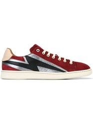 Marc Jacobs 'Lightning Bolt' Low Top Sneakers Red