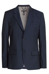 Marc By Marc Jacobs Wool Blazer Blue