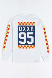 10.Deep Alert Long Sleeve Tee White