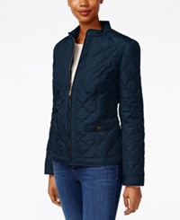Charter Club Petite Quilted Jacket Only At Macy's Intrepid Blue